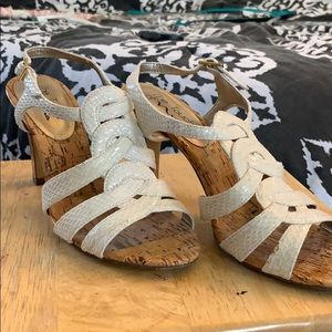 Touch of Nina Woven Sandals
